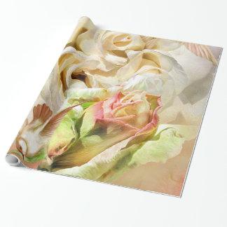 Un rosa nombrado papel de regalo de Elvis Art