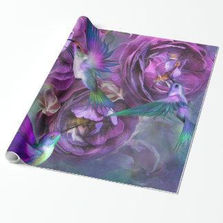 Un rosa nombrado Violet Art Giftwrap Papel De Regalo