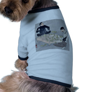 Un ruso del trastorno por Kobayashi, Kiyochika Camiseta De Perro