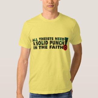 Un sacador en la fe playeras