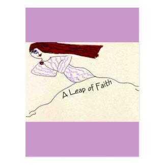 Un salto de la fe postal