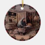 Un salvador es ornamento nacido del navidad del ornaments para arbol de navidad