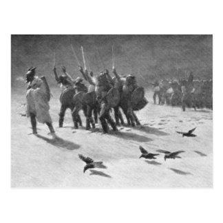 Un saqueo de Viking Postales