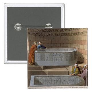 Un sarcófago antiguo de Basaltes, llamado el Lov Pin