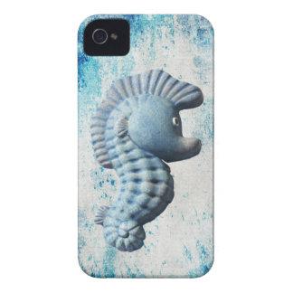 Un Seahorse caprichoso divertido lindo Case-Mate iPhone 4 Fundas