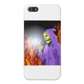 Un segador en infierno iPhone 5 carcasa