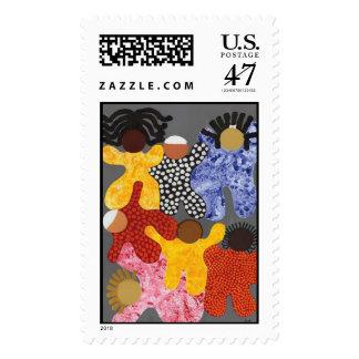 Un sello unido gente