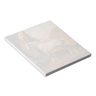 Un semental gris en un paisaje de George Stubbs Bloc De Notas