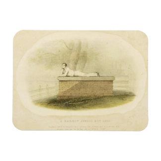 Un señor Byron (1788-1824 del escolar de la grada  Imanes Rectangulares