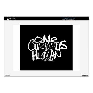 Un ser humano curioso skins para portátil
