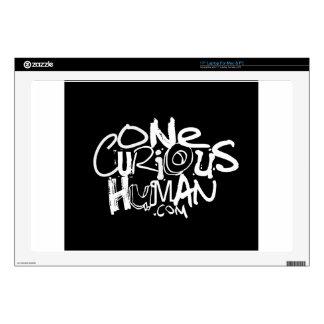 Un ser humano curioso skins para portátiles