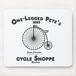 Un Shoppe del ciclo de Pete Legged, Boston Mousepads