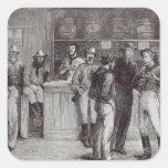 Un shout', general dentro de una taberna del colcomania cuadrada