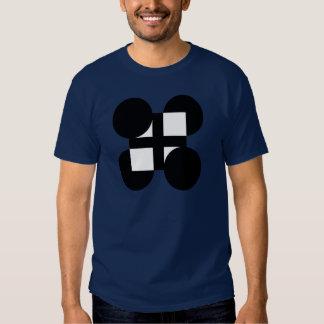 Un símbolo en una camiseta remera