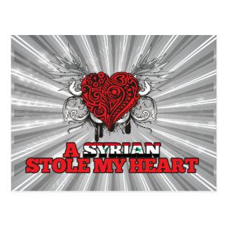 Un sirio robó mi corazón tarjetas postales