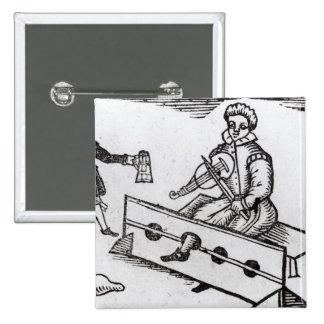 Un Snatcher de monedero en la acción Pin Cuadrada 5 Cm