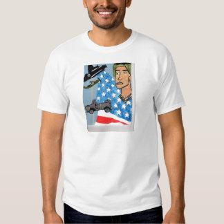 Un soldado americano polera