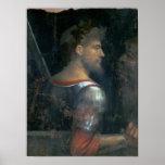 Un soldado, c.1505-10 póster