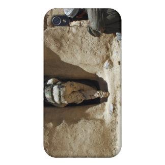 Un soldado del Guardia Nacional iPhone 4 Fundas