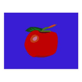 Un solo azul de Apple Postales