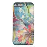 Un solo colibrí funda de iPhone 6 barely there