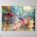 Un solo colibrí poster