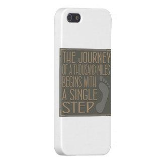 Un solo paso iPhone 5 funda