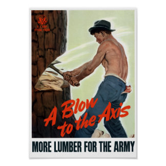 Un soplo a AXIS -- WWII Posters
