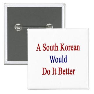 Un sudcoreano lo haría mejor pins