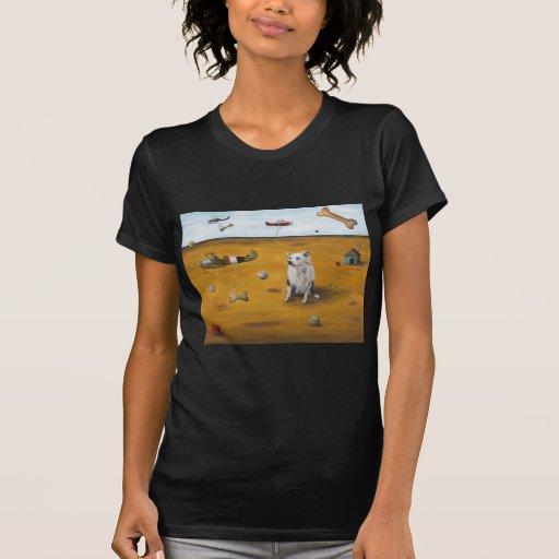 Un sueño de los perros camiseta
