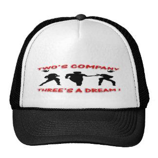 un sueño de tres gorras de camionero