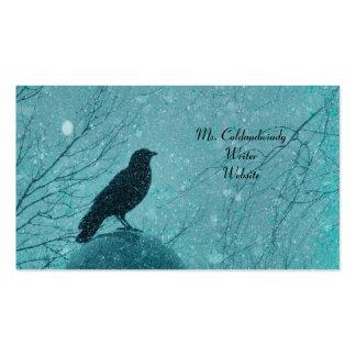 Un sueño del invierno tarjeta de visita