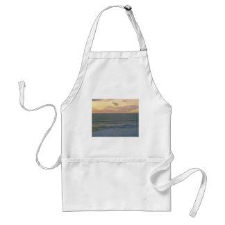 Un sueño del lado de mar delantal