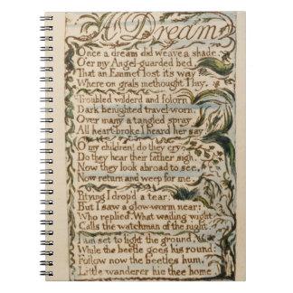Un sueño, ejemplo de 'canciones de la inocencia y cuaderno