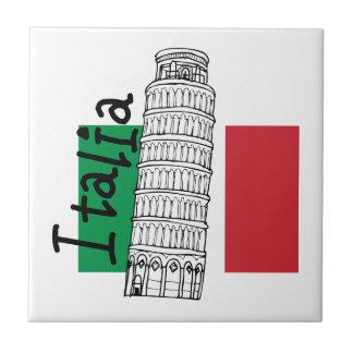 Un tacto de Italia Azulejo Cuadrado Pequeño