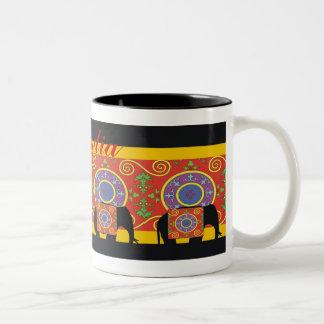 Un tacto de la India Taza De Café
