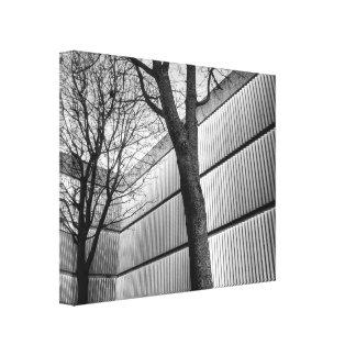 Un tacto de la naturaleza lienzo envuelto para galerías