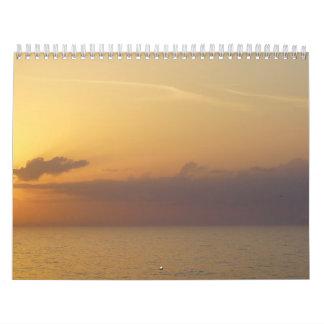 Un tacto del ~ 2014 de Sun II Calendario De Pared