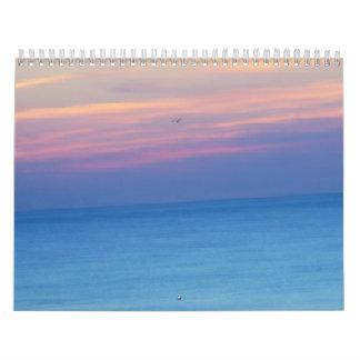 Un tacto del ~ 2014 de Sun III Calendario De Pared