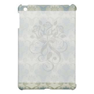 un tacto del diseño del damasco del pavo real