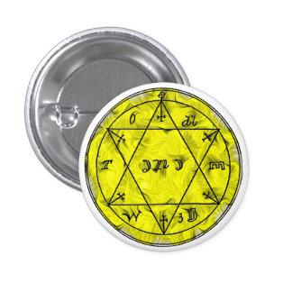 Un talismán para preservar su salud pin redondo de 1 pulgada