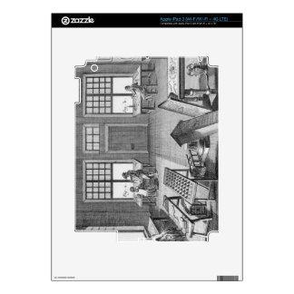 Un taller de los inlayer de los muebles, del 'Ency iPad 3 Skins