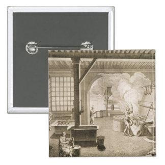Un taller tintóreo de seda, del 'DES de Encycloped Pins