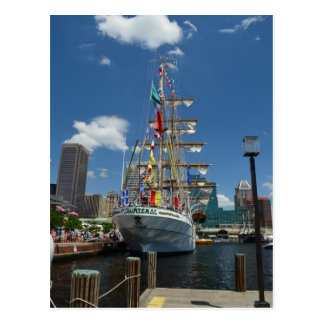 Un Tallship en Baltimore Postales