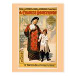 Un teatro chino del vintage de la luna de miel tarjeta postal