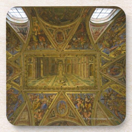 Un techo frecoed por Raphael en el Pasillo de Posavaso