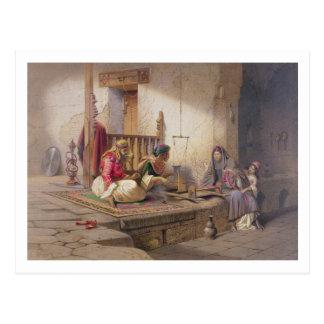 Un tejedor en Esna, uno de 24 ejemplos producidos Postal