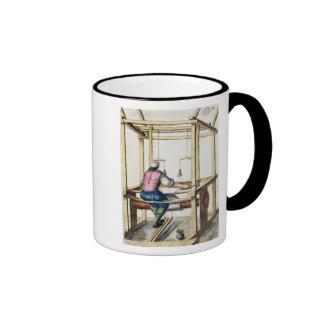 Un tejedor veneciano tazas