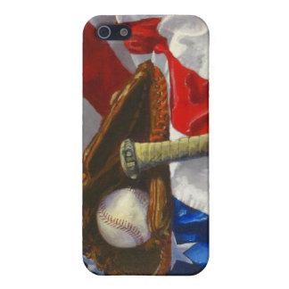 Un teléfono de los amantes del béisbol iPhone 5 cárcasas