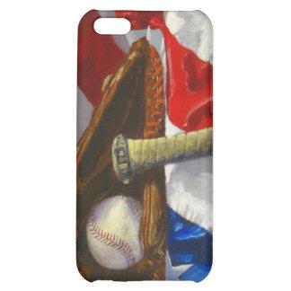 Un teléfono de los amantes del béisbol